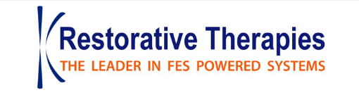 Restorative therapies are leaders in functional electrical stimulation powered systems