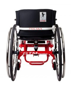 The use of technologically and advanced, built-in air shock means more comfort for you when travelling over bumpy surfaces. It also reduces the risk of damage to the wheelchair