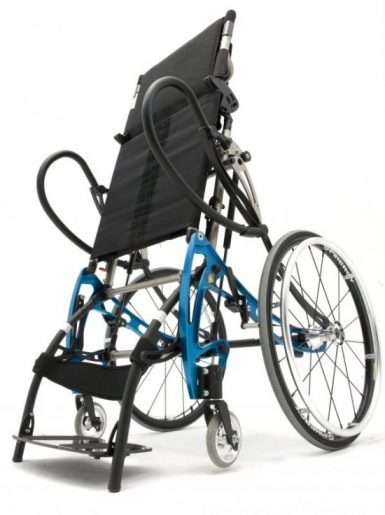 Lifestand LSA Helium, the lightest manual stand-up wheelchair in the world