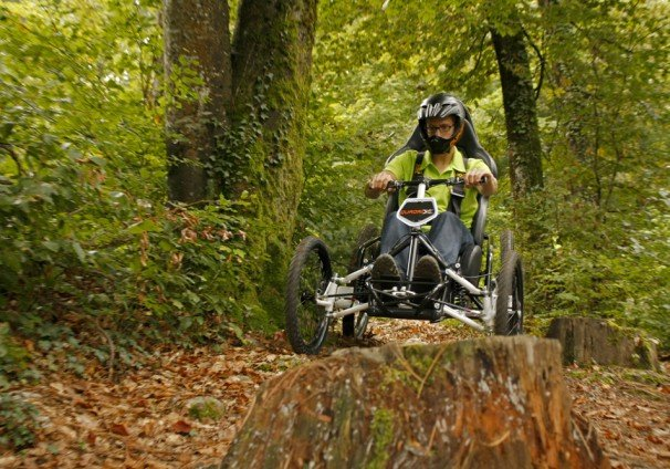 Quadrix IBEX is a versatile, sports-oriented, gravity all-terrain wheelchair ideal for energetic downhill riding and trekking quadrix-ibex-gravity-wheelchair-for-trekking-and-sports-side-view.png