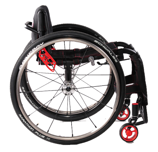 GTM Mustang | entry level | tailor made wheelchair | Cyclone