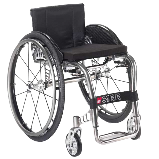 Offcarr EOS is an elegant, sleek and ultra-lightweight titanium wheelchair from the worldwide renowned Italian company, Offcarr.