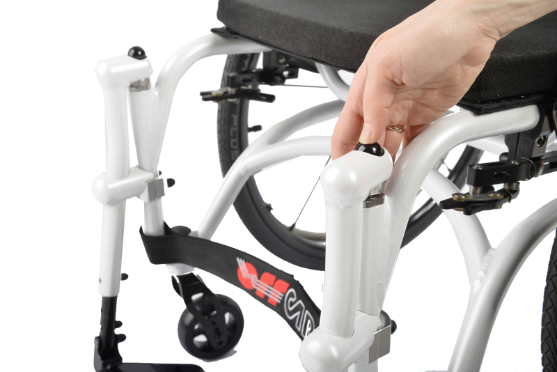 The Offcarr Idra 2.0 is a fun lightweight wheelchair was designed to be sleek and robust. The Idra 2.0 is robust yet lightweight in design and has an extensive range of accessories