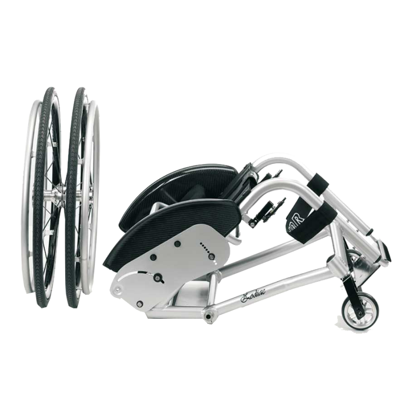 Offcarr Zodiac wheelchair has been built using a lightweight aluminium frame that is solid, agile and reliable