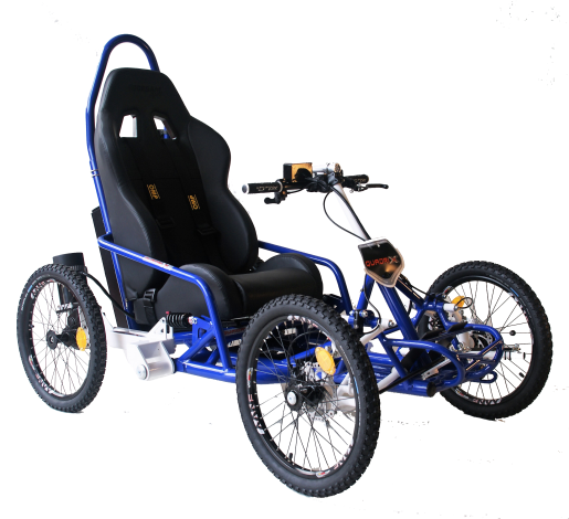 This All-terrain Electric Wheelchair is perfect for touring and hill riding