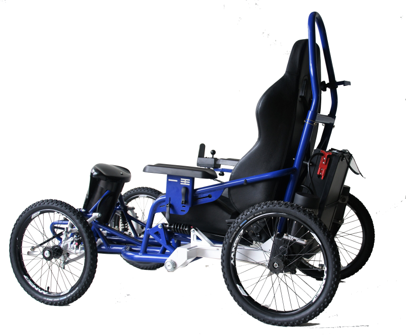 Quadrix AXESS TOUCH invites you to get involved in multiple outdoor activities and explore new horizons. With this electric wheelchair model, speed and direction is controlled with just the joystick