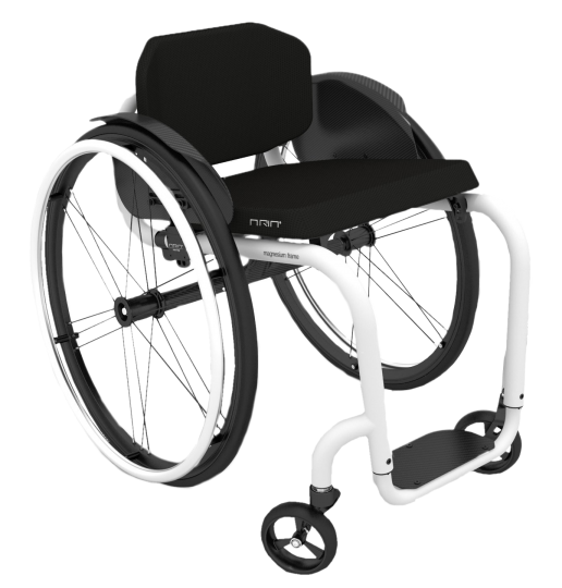 The Aria 1.0 is a 100% manually assembled product. Its foldable backrest and rigid magnesium alloy frame, make it ideal for active users.