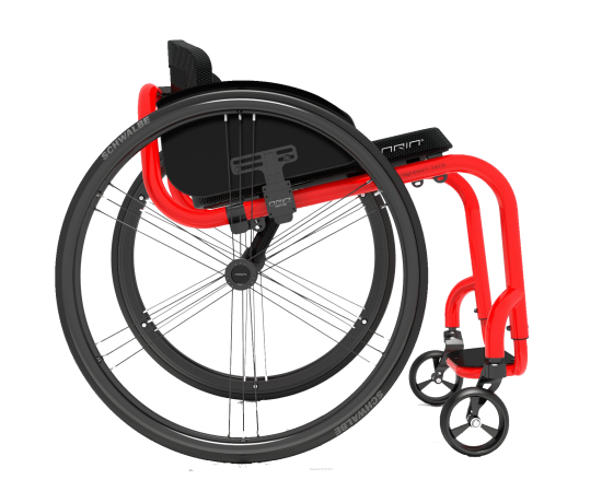 The Aria 1.0 is a 100% manually assembled product. Its foldable backrest and rigid magnesium alloy frame, make it ideal for active users