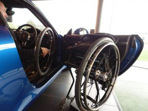 GTM Jaguar - following years of research into premium specification, thin walled, aerospace tubing, GTM has produced an everyday, ultra-lightweight aluminium wheelchair