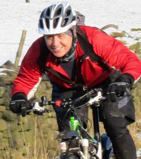 Peter Lau case study image of Peter riding his Mountain Bike pre-injury