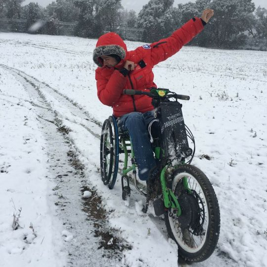 Batec Rapid being road tested in the snow