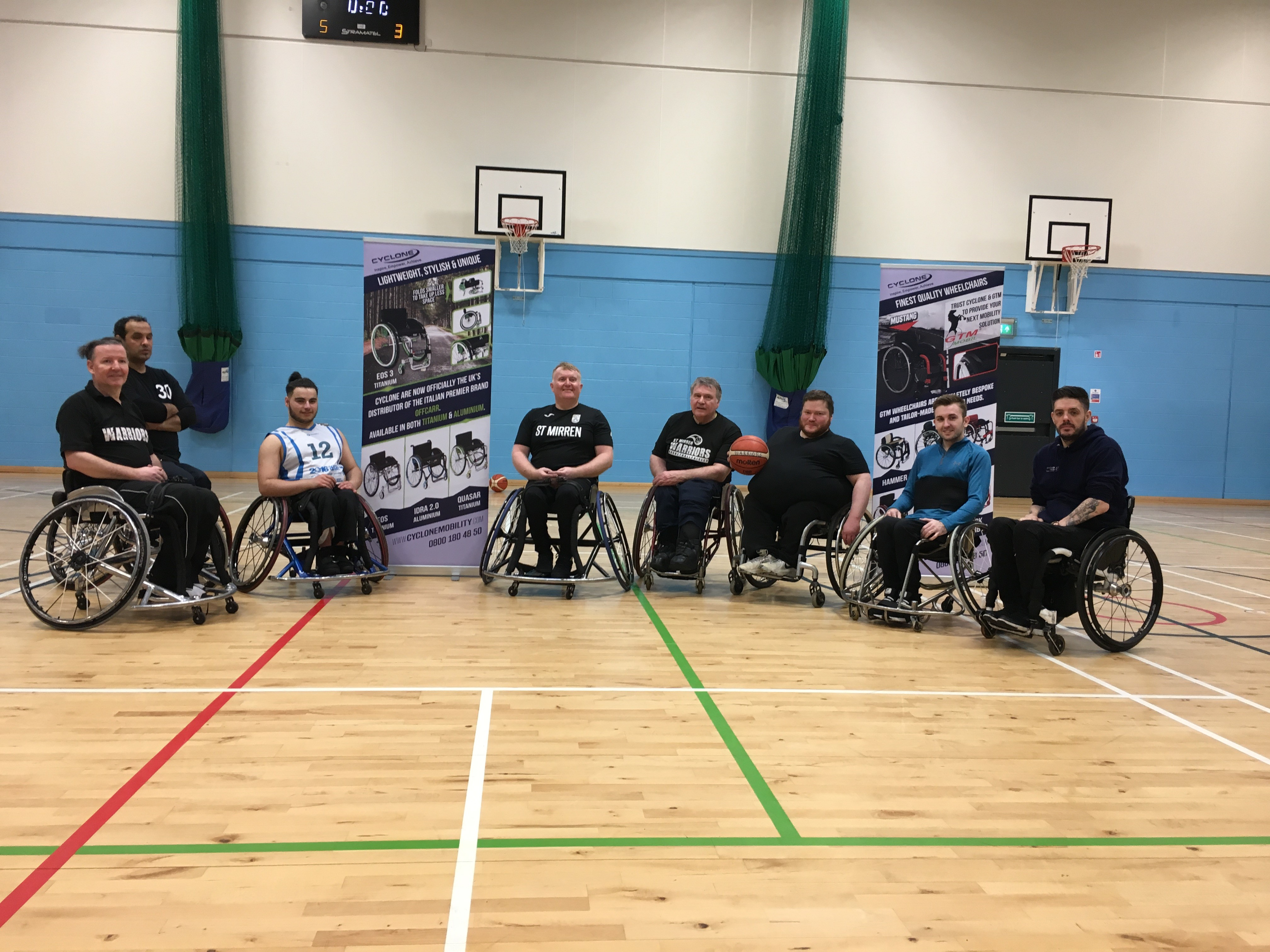 Paralympian profile: Mike Kerr – Cyclone Mobility advisor for Scotland