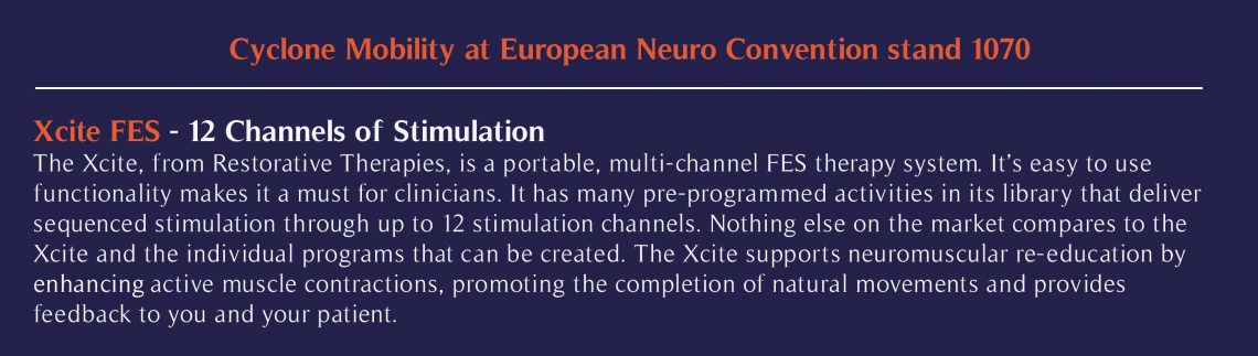Information about Xcite for Neuro convention