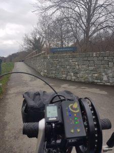 Start of the Mawddach Trail