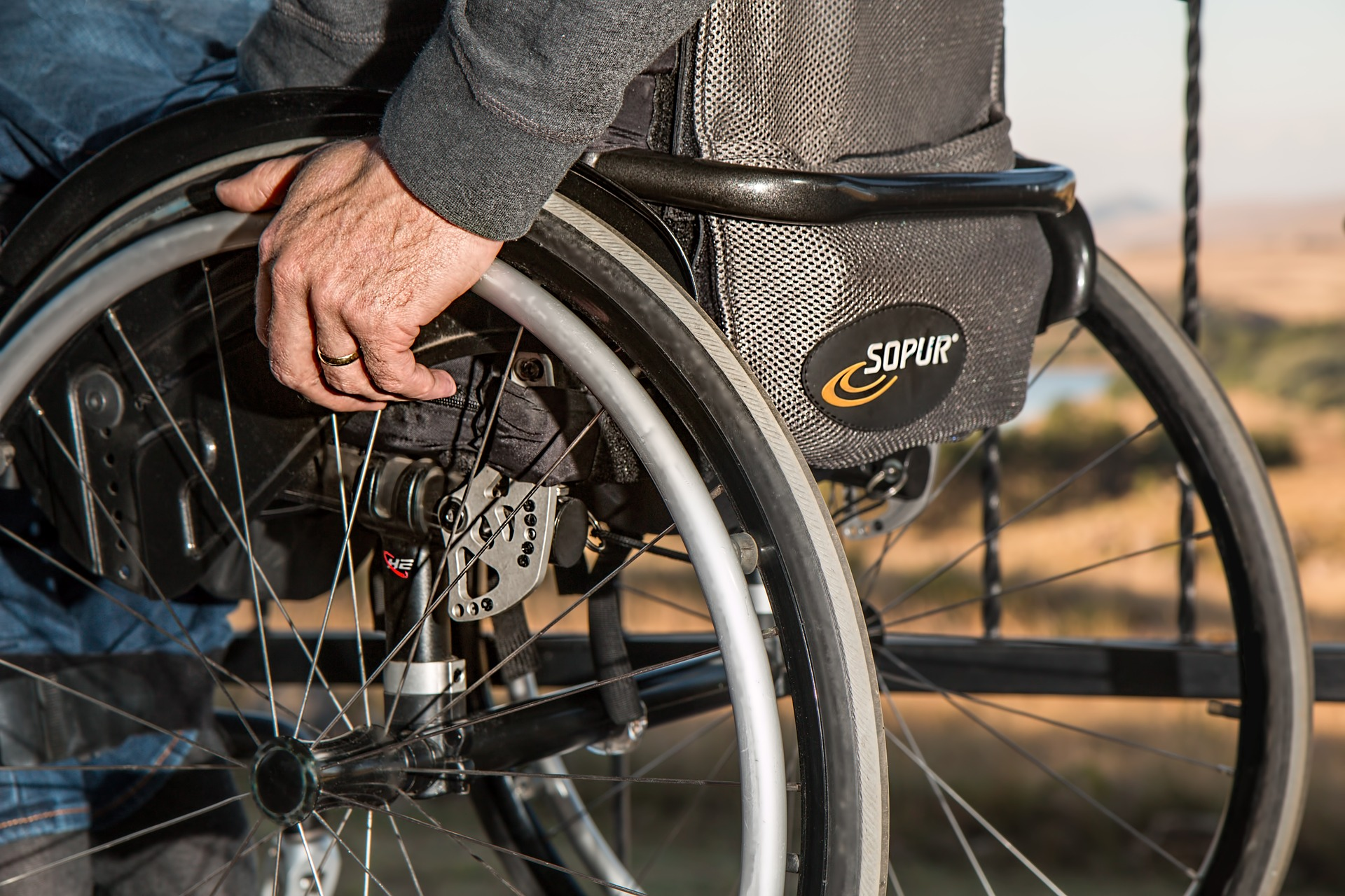 The danger of a pressure ulcer for wheelchair users