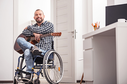 Wheelchair accessible homes in the UK