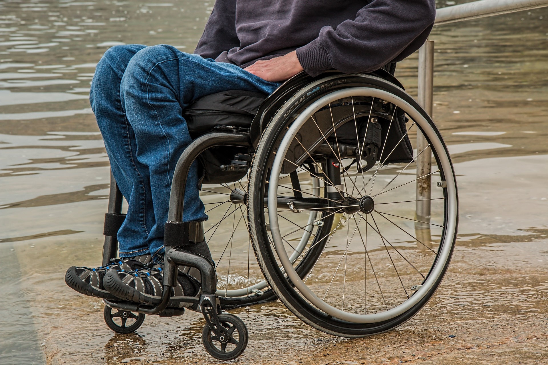 Why good posture is important for wheelchair users