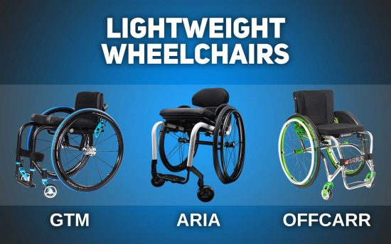Lightweight wheelchairs GTM, ARIA, Offcarr