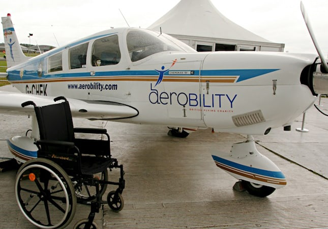 Teaching disabled people to fly